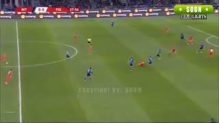 خلاصه بازی اینتر 2 - فیورنتینا 1 از جام حذفی ایتالیا