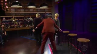 BTS.HIDE AND SEEK IN LATE LATE SHOW. قایم موشک بازی  پسرا