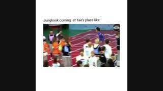 وقتی ته ته از جونگ کوک میخواد بیاد پیشش...♡ (vkook/ taekook/bts)