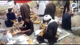 امداد رسانی طلاب و روحانیون در سیستان و بلوچستان