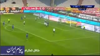 گل های بازی استقلال تهران 2 - نفت مسجدسلیمان 1