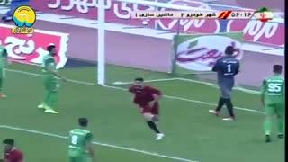 خلاصه بازی پرگل و هیجانی شهر خودرو 3 - ماشین سازی 1 از هفته هجدهم لیگ برتر ایران
