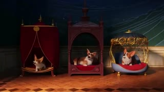 انیمیشن سگ باهوش ملکه(کودکانه)