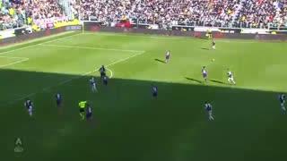 خلاصه بازی یوونتوس 3 - فیورنتینا 0 ازهفته بیست و دوم سری آ ایتالیا