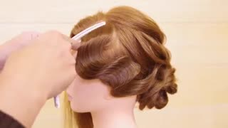 آموزش مدل مو دخترانه موج انگشتی- مومیس مشاور و مرجع تخصصی مو