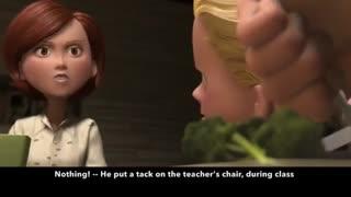 آموزش زبان انگلیسی با فیلم و انیمیشن - شماره 1