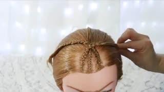 آموزش مدل مو دخترانه بافت بیضی شکل- مومیس مشاور و مرجع تخصصی مو