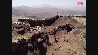 درگیری نیروهای انصارالله یمن با رژیم متجاوز سعودی در جبل المناره یمن