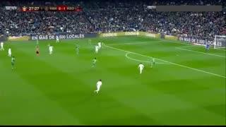 خلاصه بازی پرگل و دیدنی رئال مادرید 3 - رئال سوسیداد 4 از جام حذفی اسپانیا