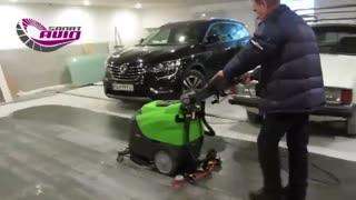 دستگاه اسکرابر برقی | نظافت و شستشوی پارکینگ