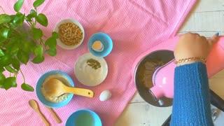 طرز تهیه شیرینی اسکار گردویی