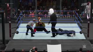 مسابقه بسیار زیبای حذفی کشتی کج WWE 2K18