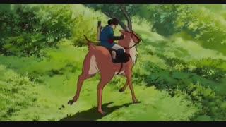 انیمیشن ژاپنی فانتزی و ماجراجویی «شاهزاده خانم مونونوکه»(Princess Mononoke)(کودکانه)