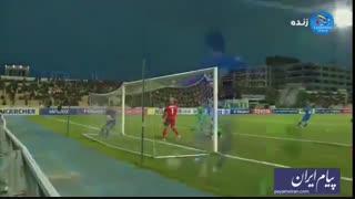 گل های بازی الشرطه عراق 1 - استقلال تهران 1