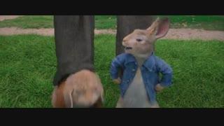 انیمیشن کمدی ماجراجویی پیتر خرگوشه(Peter Rabbit)دوبله فارسی