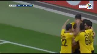 خلاصه بازی پرگل و جذاب العین امارات 0 - سپاهان 4 از مرحله گروهی لیگ قهرمانان آسیا