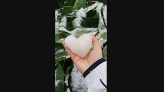 سلام بچه  هابراتون قلب یخی درست کرده بودم یادم رفته بود:)