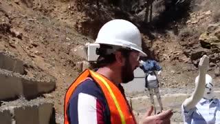 انفجار در معدن به صورت 200,000fps
