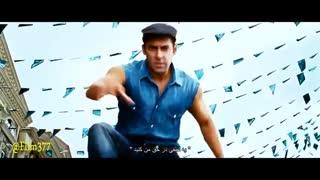 (آهنگ هندی+زیرنویس)سلمان خان در فیلم بادیگارد