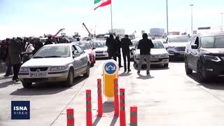 آغاز تردد آزمایشی آزادراه تهران-شمال