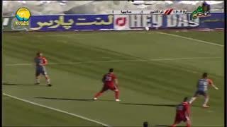 خلاصه بازی تراکتور 3 - سایپا 1 از هفته 20 لیگ برتر ایران