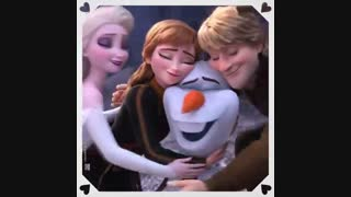 Happy Valentine's Day ♥~♥ With Frozen ♥~♥ ولنتاین مبارک ♡~♡