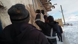 افتتاح گاز رسانی  به روستای خانه سر مرند