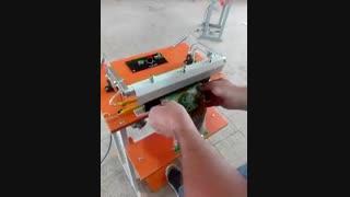 دستگاه دوخت پدالی پلاستیک – طول دوخت ۶۰cm