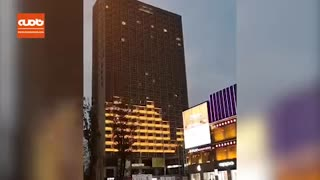 خلاقیت در نورپردازی نمای ساختمان