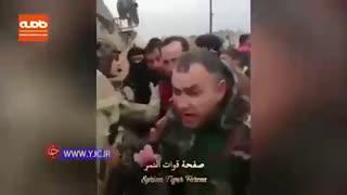 درگیری لفظی فرماندهان ارتش سوریه و آمریکا