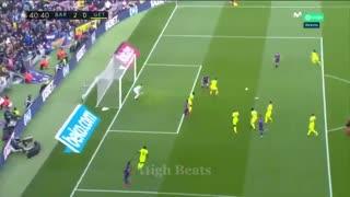 خلاصه بازی جذاب و حساس بارسلونا 2 - ختافه 1 از هفته 24 لالیگا اسپانیا