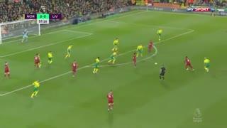 خلاصه بازی حساس لیورپول 1 - نوریچ سیتی 0 از هفته 26 لیگ برتر انگلیس