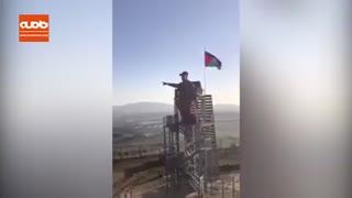 رونمایی از مجسمه سردار شهید قاسم سلیمانی در مرز لبنان با فلسطین