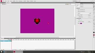 انیمیشن سازی به روش motion tween در نرم افزار فلش