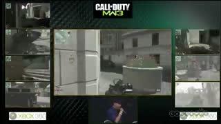 فینال مسابقات Modern Warfare 3 سال 2011 با سه مود هیجانی مختلف