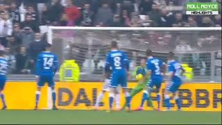 خلاصه بازی یوونتوس 2 - برشا 0 از هفته 24 سری آ ایتالیا