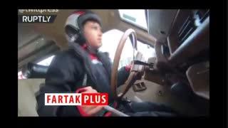 مهارت عجیب پسر 9 ساله ایرانی در رانندگی آفرود