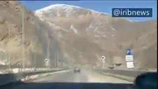 افتتاح قطعه یک آزادراه تهران - شمال