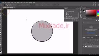 ساخت یک بکگراند رنگی و رویایی در فتوشاپ Mixkade ir
