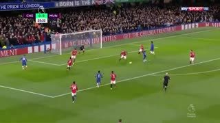 خلاصه بازی جذاب و تماشایی چلسی 0 - منچستریونایتد 2 از هفته 26 لیگ برتر انگلیس