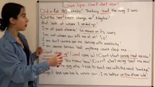 آموزش زبان انگلیسی آنلاین با آهنگ