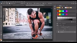 آموزش ایجاد نور روی عکس در فتوشاپ