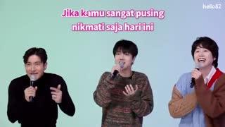 Superjunior وقتی به زبان مالزی شعرشون رو میخونن (از دست ندین )