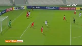 خلاصه بازی جذاب و پرگل شارجه امارات 2 - پرسپولیس 2 از مرحله گروهی لیگ قهرمانان آسیا
