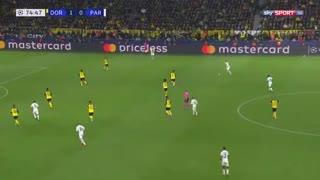 خلاصه بازی جذاب و دیدنی دورتموند 2 - پاریسن ژرمن 1 از مرحله حذفی لیگ قهرمانان اروپا