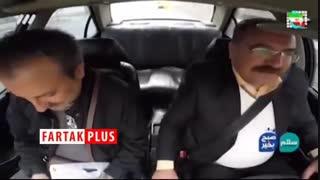 تبلیغات راننده تاکسی برای کسب رای در انتخابات مجلس