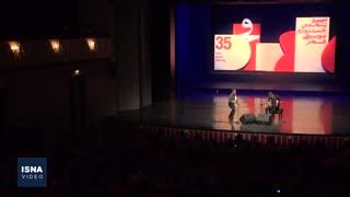 همنوایی آکاردئون و ساکسیفون در تالار وحدت