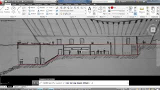 Drawing a Building Cross Section in Photoshop and AutoCAD