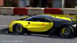 مسابقه ماشین بوگاتی