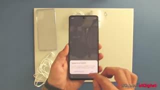 آنباکسینگ Galaxy A71 Unboxing